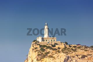 Leuchtturm Cap Formentor Mallorca Textfreiraum Copyspace Balearen Reise Reisen Spanien