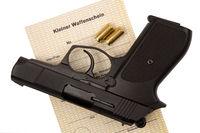 Little Weapon Certificate and Shotgun