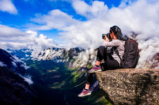 Nature photographer Norway