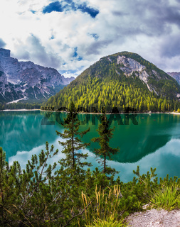 Magnificent lake in South Tyrol