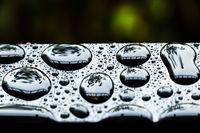 rainy day, water drops