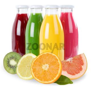 Saft Smoothie Smoothies Flasche Früchte Fruchtsaft freigestellt Freisteller