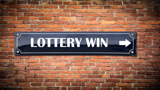 Street Sign to Lottery Win