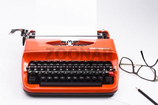 Nostalgische Schreibmaschine