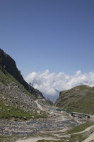 Rohtang Pass, Himachal Pradesh, India. Connects valleys of Himachal Pradesh, Manali and Lahaul and Spiti