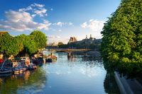 View on Pont des Arts