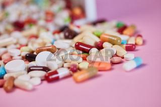 Viele Medikamente und Schmerzmittel