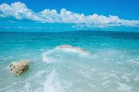 Beautiful summer sea landscape