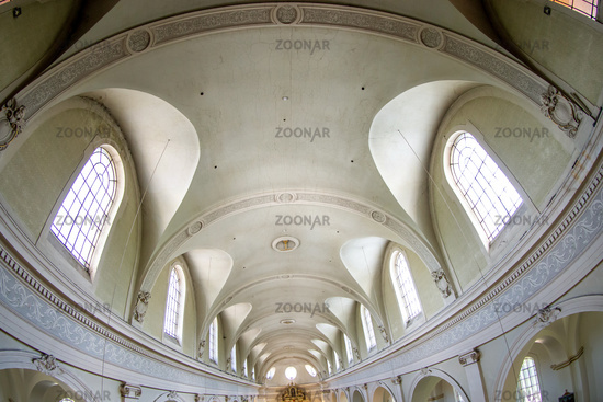 Interior of the Roman Catholic Church