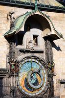 old astronomical clock, Prague