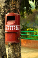 Letter box in India