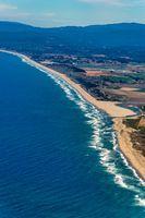 Northern California Coast Aerial View