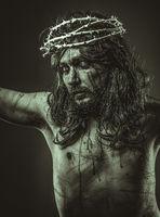 Holy, representation of Jesus Christ on the cross