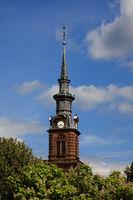Kirchturm in Lothringen