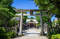 Ushijima Shrine temple, Tokyo, Japan