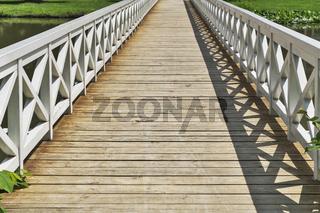 Holzbruecke   wooden bridge