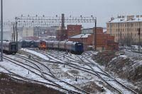 Railway Station St. Petersburg Sorting