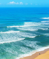 Surfer  surf ocean beach Portugal