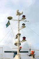Radar Mast Ship
