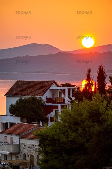 Sonnenaufgang in Kroatien