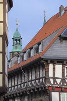 Goslar - Saniertes Altstadthaus, Deutschland