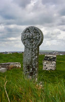 keltisches Kreuz - I - Tintagel - Cornwall - England