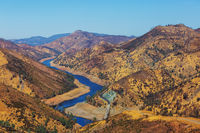 Hills in California