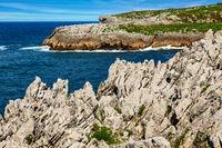 Atlantic coast in northern Spain