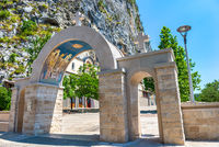 Gates of Ostrog monastery