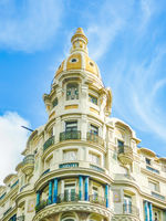 Old Style Apartment Building, Montevideo, Uruguay