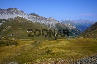 Umbrailpass, Schweiz,