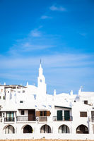 Traditional village in Menorca, Spain