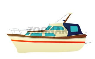 Vector yacht, speed boat