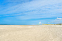 Landscape empty beach