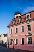 altstadt von wurzen mit rathaus, deutschland