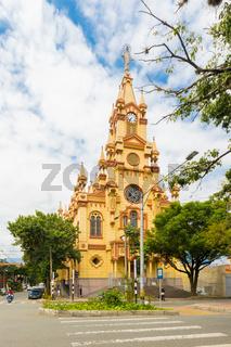 Jesus De Nazarene Church Prado district in Medellin Colombia