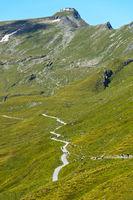 Blick zum Gipfel Faulhorn mit Berghotel, Grindelwald, Berner Oberland, Schweiz
