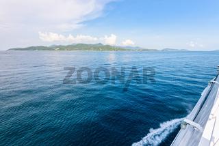 Travel by speed boat to Ko Pha Ngan