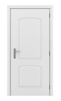door isolated on white background. 3d illustration