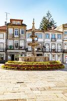 Fountain in viana do castelo