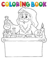 Coloring book alchemist topic 1
