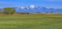View of Santaquin Peak from Lehi Farm