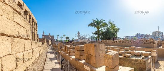 Stones of Luxor temple