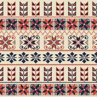 Palestinian embroidery pattern 42