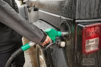 Fuel Nozzle Filling Car