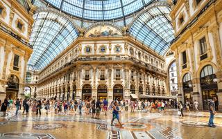 Shopping center Milan