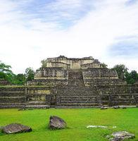 Mayan ruins in Caracol Belize