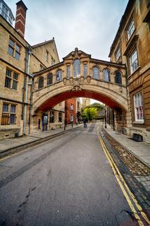 Hertford bridge or the Bridge of sighs. Oxford University. Oxford. England
