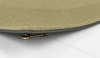 Golden key under the doormat