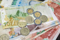 different Peruvian currency
